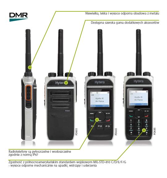 PD605, PD665, PD685